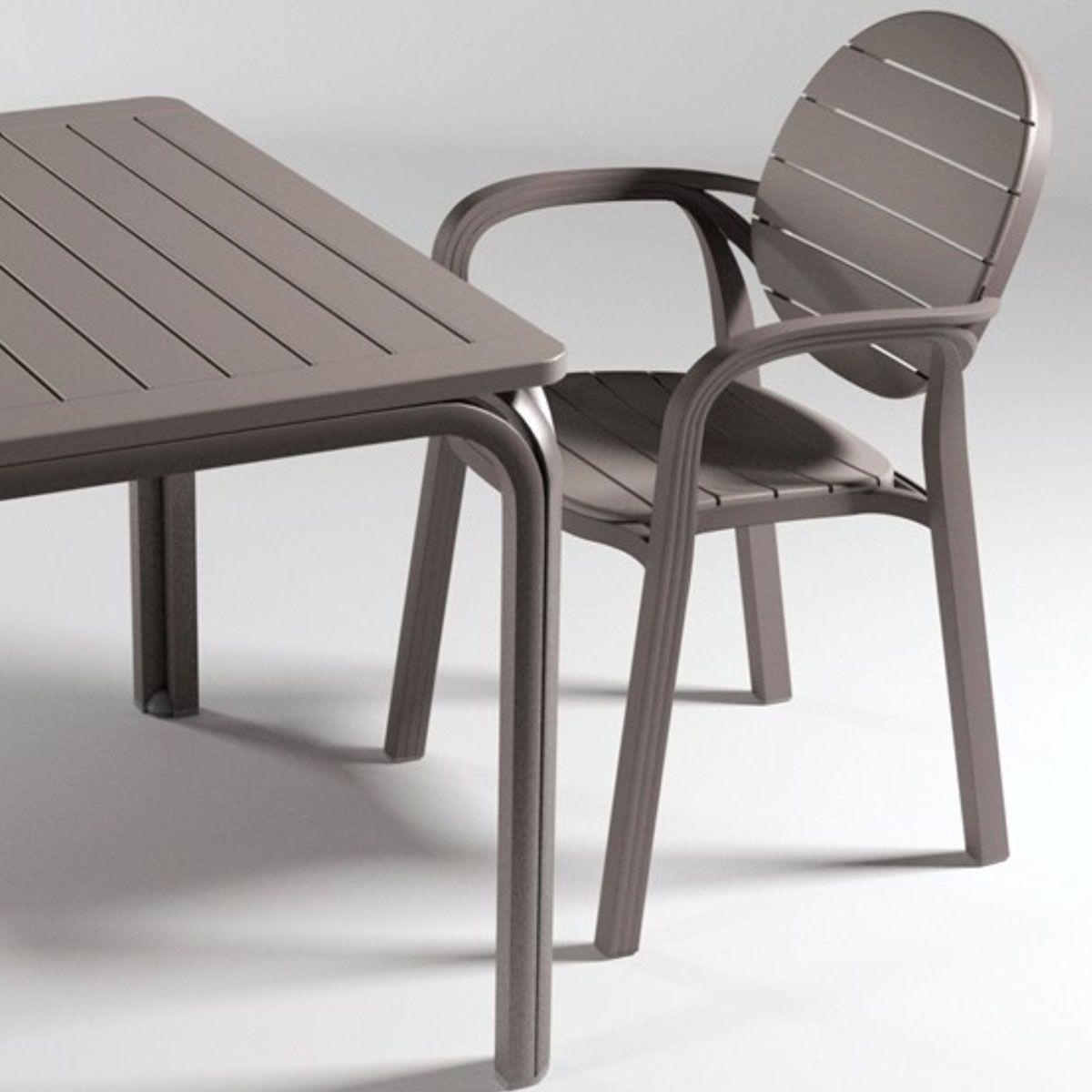 Fauteuil Jardin design Nardi Palma Zendart Design