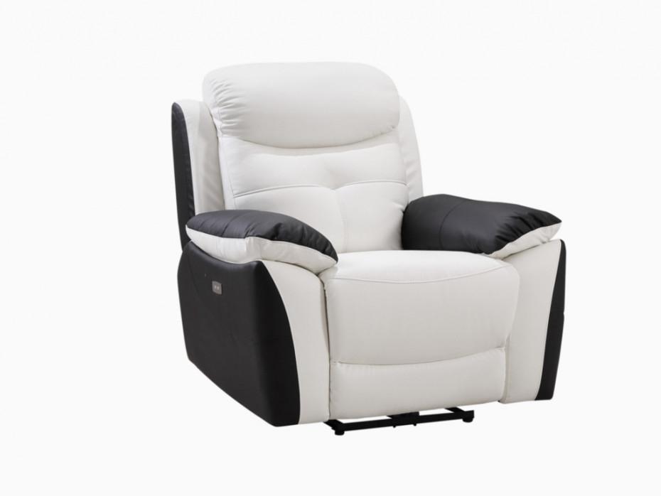 Canapé 3 places 2 places et fauteuil relax électrique LUGO