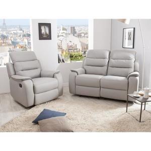 Canape relax 3 places et un fauteuil Achat Vente pas cher