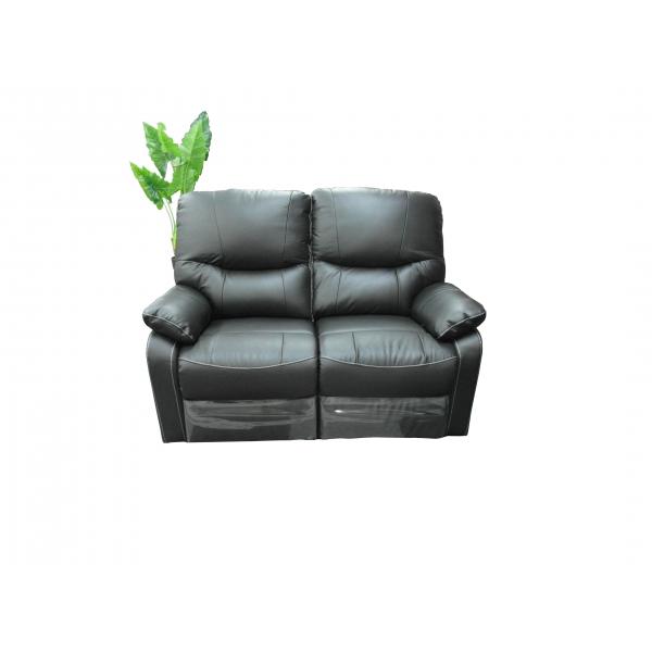 MOULIN DES AFFAIRES Le canapé 3 places en cuir dont 2