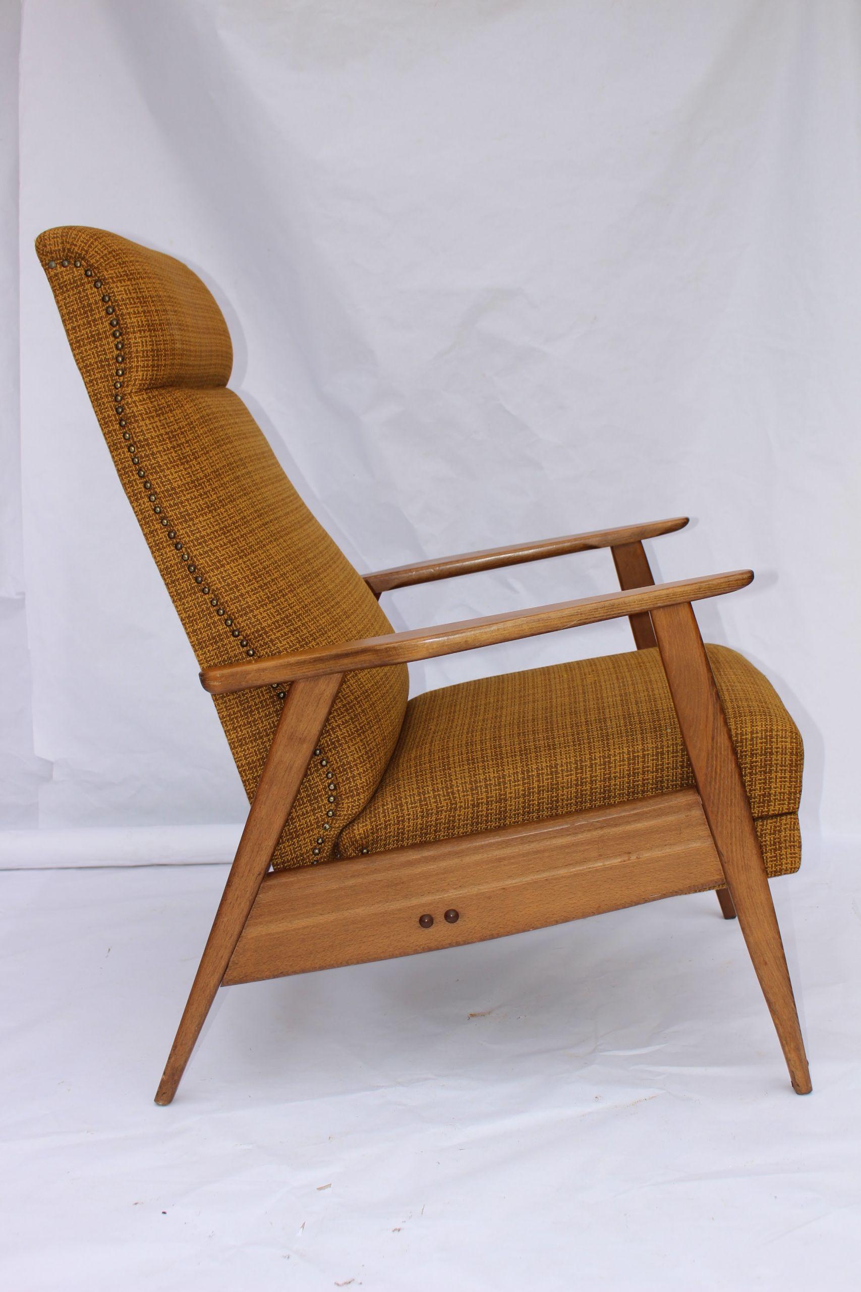 Fauteuil relax scandinave 1950 Design Market
