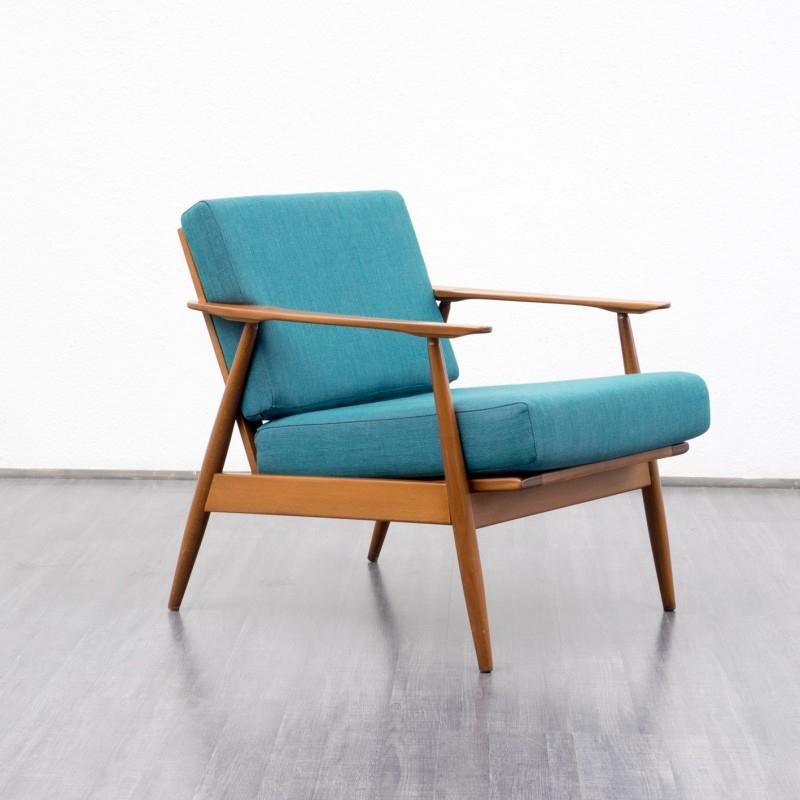 Fauteuil vintage Scandinave années 60 Design Market