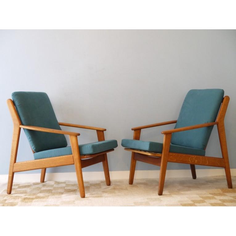 fauteuils design scandinave vintage bois la maison retro