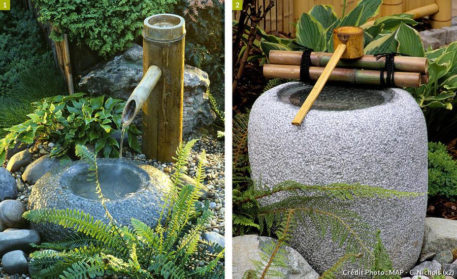9 exemples de fontaines pour votre jardin Détente Jardin