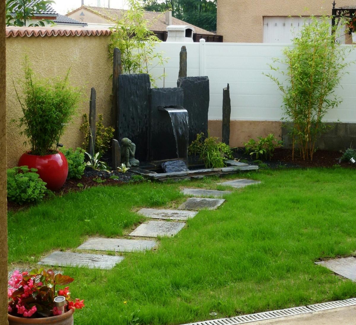 Fontaine Japonaise Zen Petit Jardin Zen Avec Fontaine