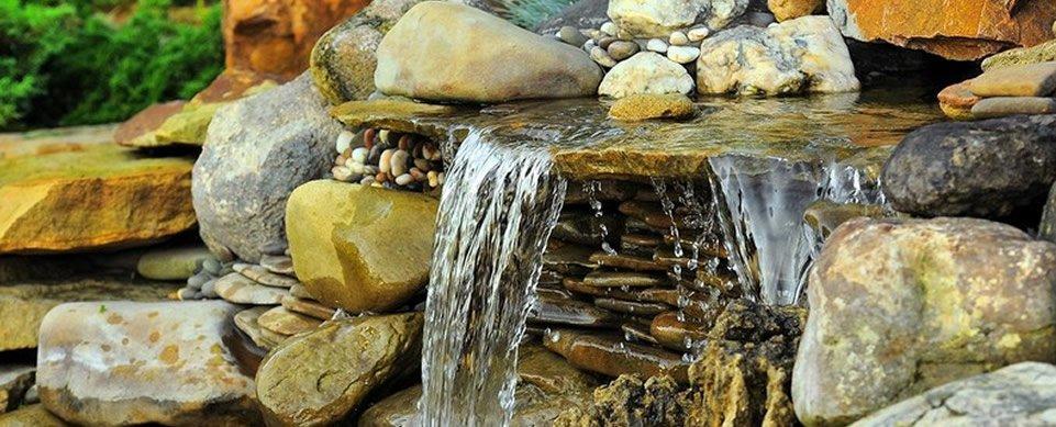 jardin japonais fontaine Espace Vert Bernard
