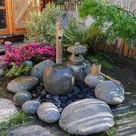 Fontaine Jardin Japonais Jardin Japonais Petit Espace Aquarelle Online