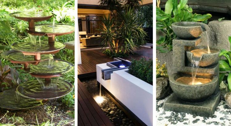23 magnifiques fontaines pour décorer votre jardin