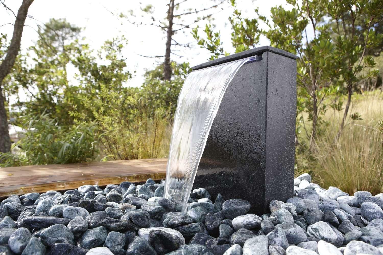 bassin fontaine jardin zen Super Déco