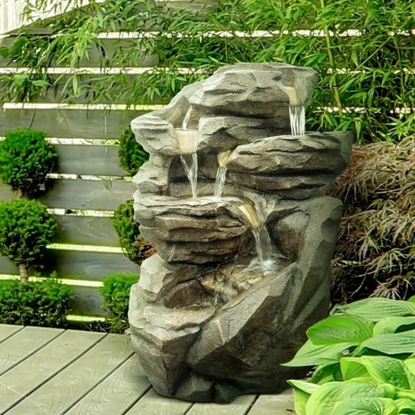 Fontaine de jardin XL Niagara