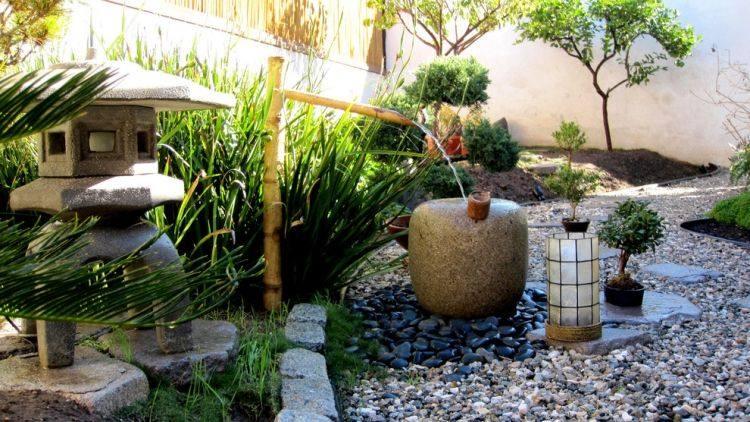 Jardin zen – plantes et positions harmonieuses en photos