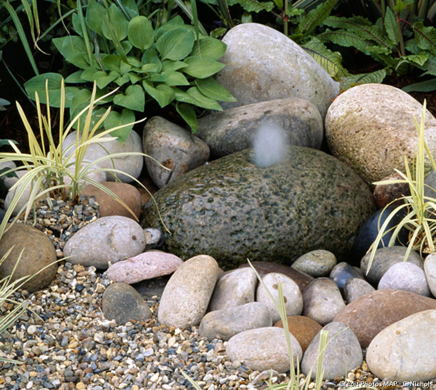 Fontaine Zen Jardin Concept