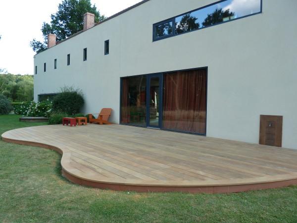 Forme Terrasse Bois originale Des Idées