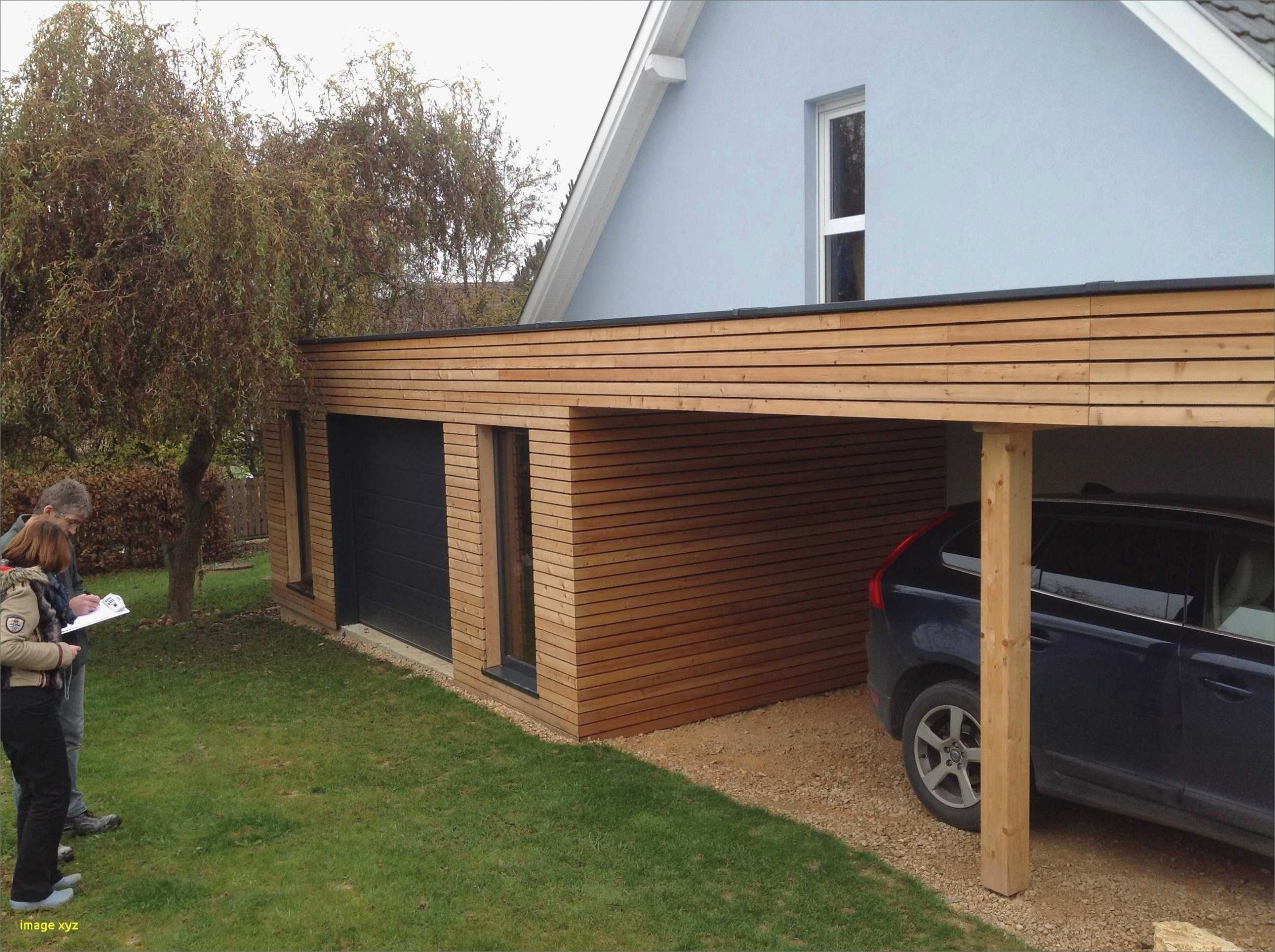 Extension Garage Toit Plat davidreed