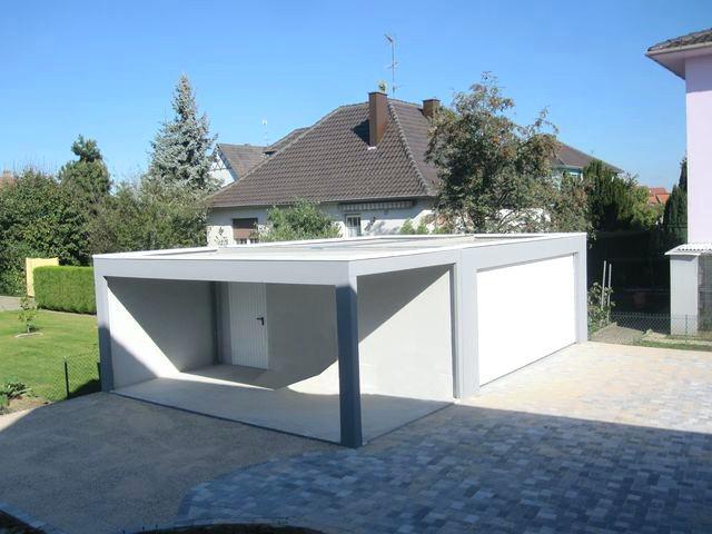 Garage Toit Terrasse Clients Construire Garage Toit