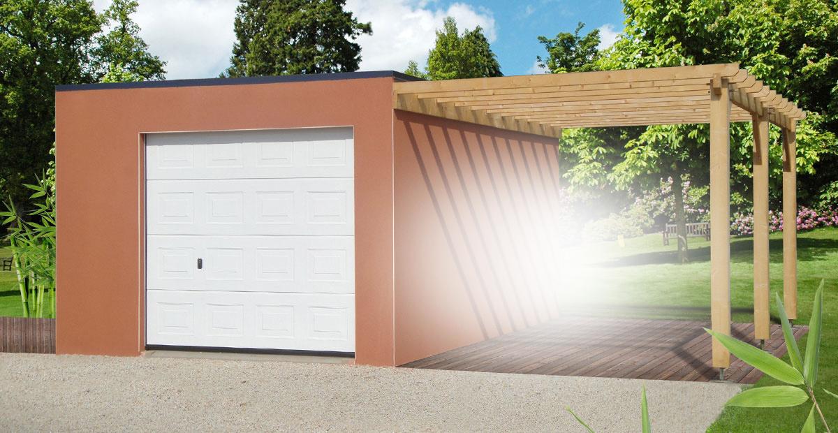 Prix garage préfabriqué plaque béton L impression 3D
