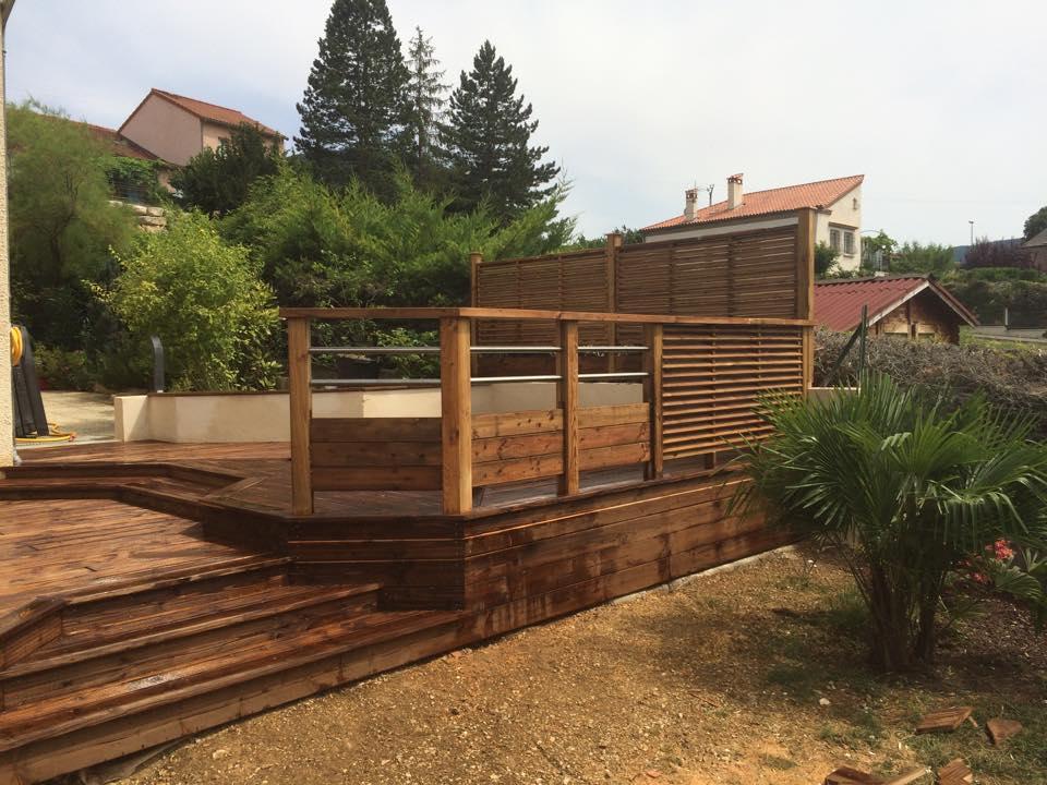 boissiere & fils terrasse garde corps bois metal