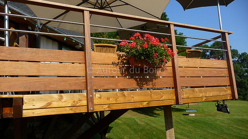 Garde corps terrasse bois – Ma maison personnelle