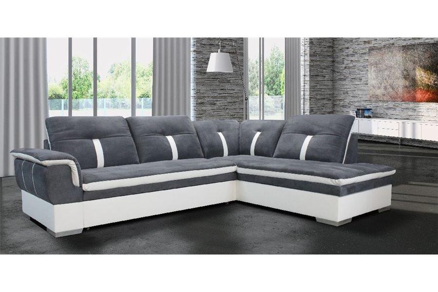 Canapé d angle Marion microfibre chloe design