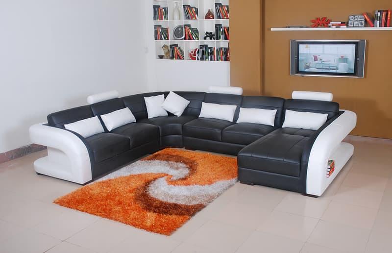 Canapé Panoramique Cuir AREZZO XL Grand canapé cuir 7