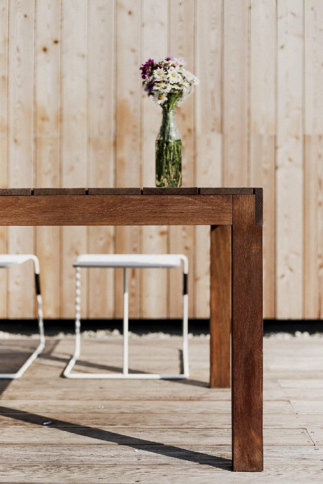 Grande Table De Jardin Grande Table De Jardin Rectangulaire Sena 220 Cm En Bois