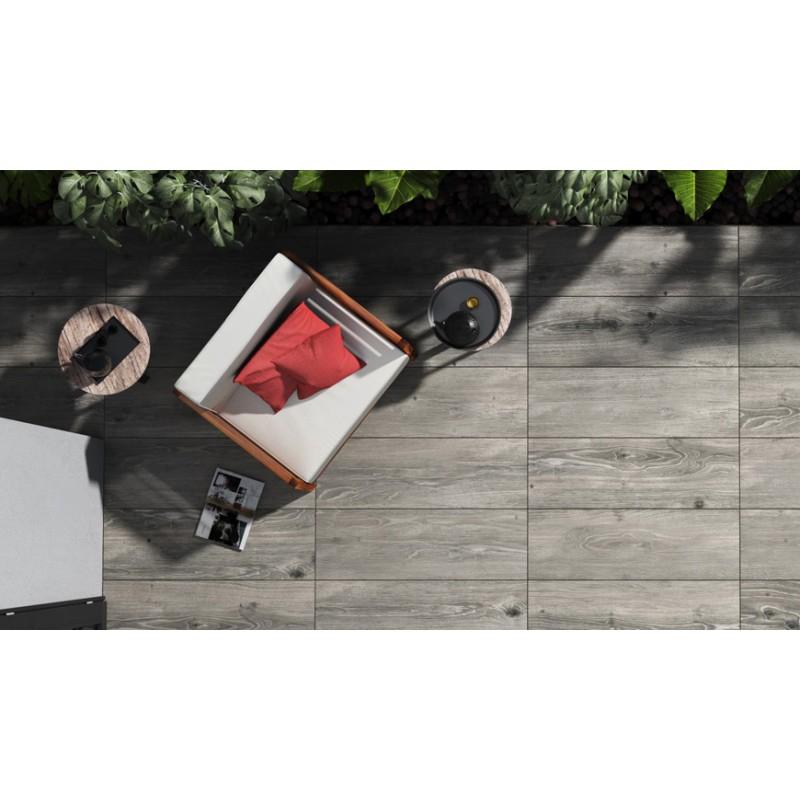 Dalle grès cerame 120x40 pour terrasse carrelage céramique