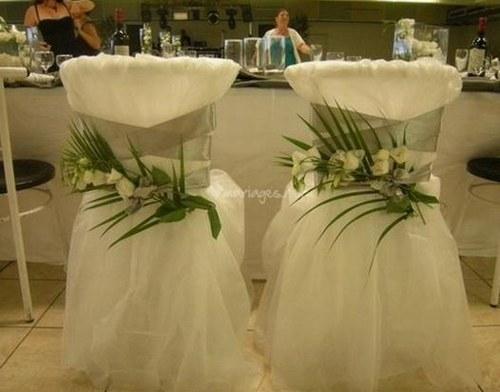 Housse de chaise jetable i Le mariage