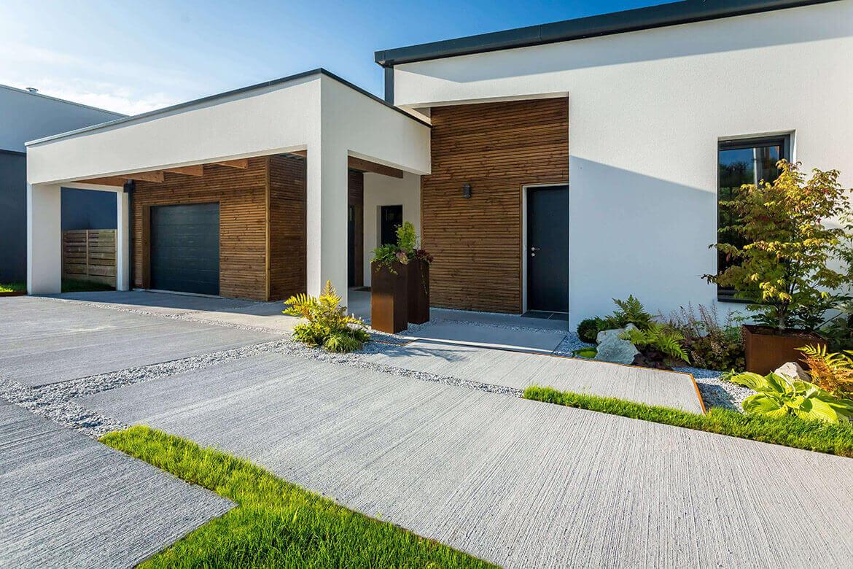 Aménagement Entrée Maison Extérieur idée aménagement extérieur amenagement entree de maison