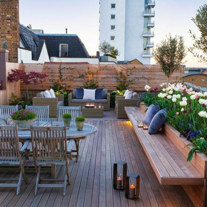 Idée Aménagement Extérieur Aménager Une Terrasse Plus De 50 Idée Pour Vous