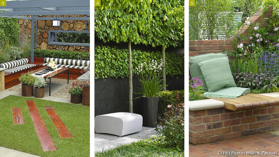 10 idées d aménagement pour petit jardin