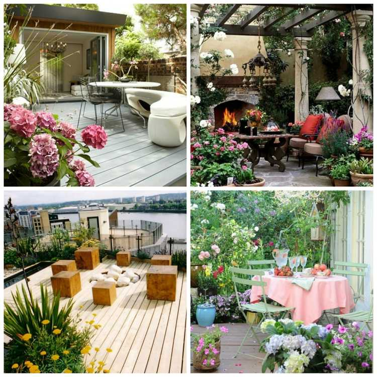 Idee Amenagement Terrasse Jardins Et Terrasses Archives Ideeco