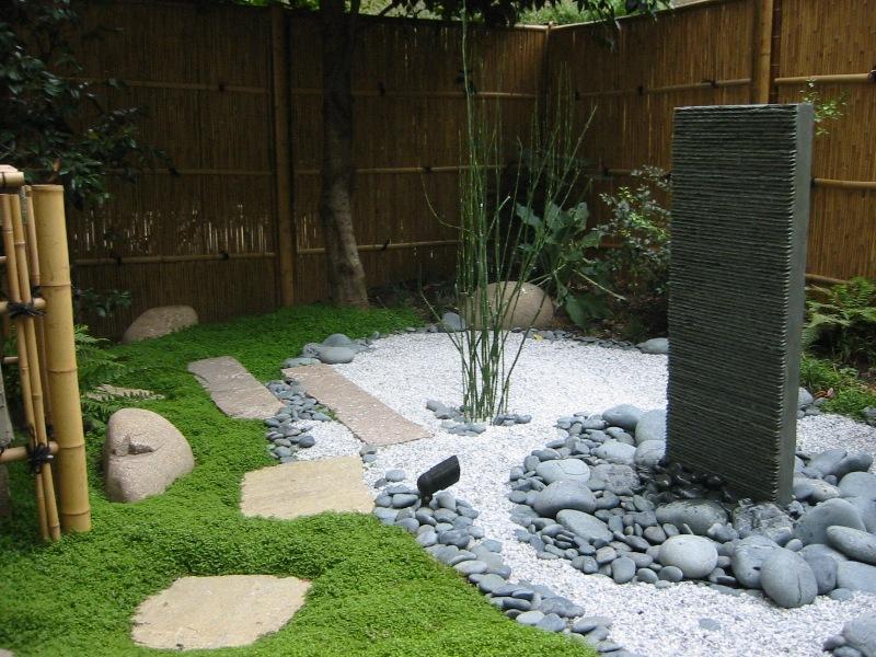 Amenagement Jardin Zen YW46