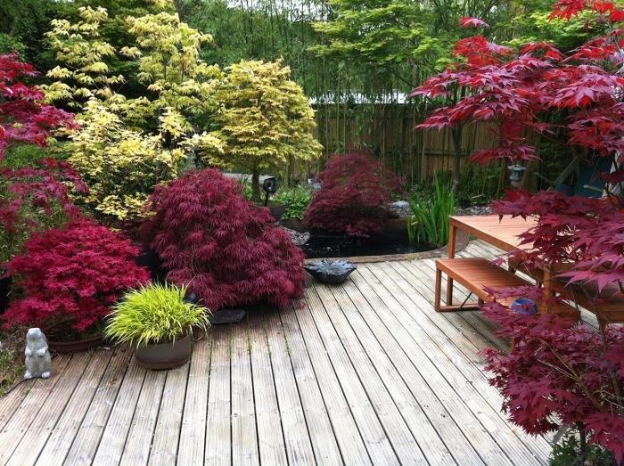 idee decoration jardin japonais
