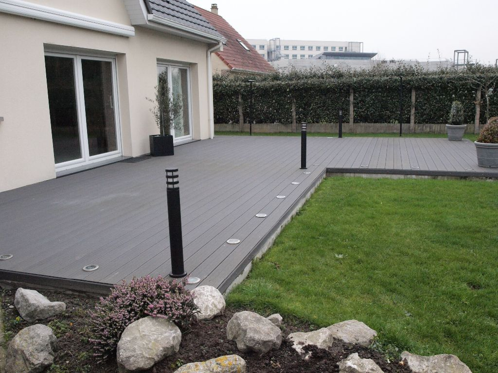 Idee De Terrasse Exterieur Terrasse Bois Posite