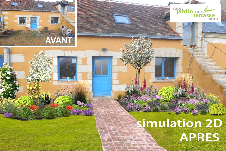 """Aménagement Jardin Pas Cher idee deco jardin pas cher la terrasse de """"4 sous"""" - idees"""