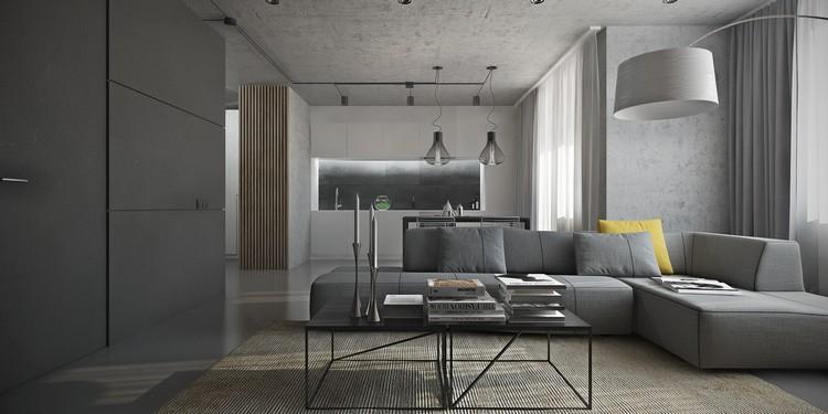 Déco salon gris blanc bois en 35 idées pour revitaliser
