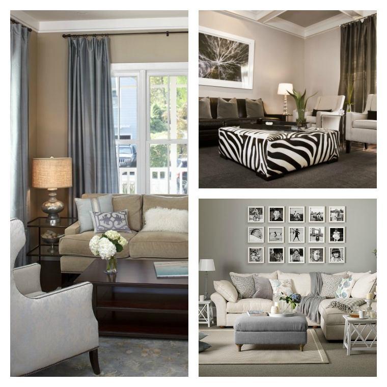 Déco salon gris et taupe pour un intérieur raffiné