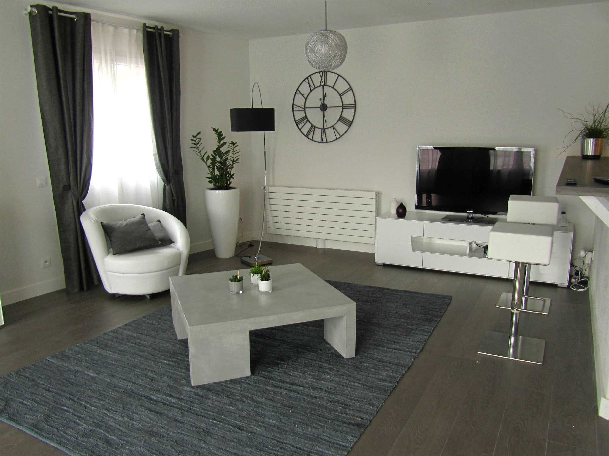 Decoration Salon Beige Et Taupe