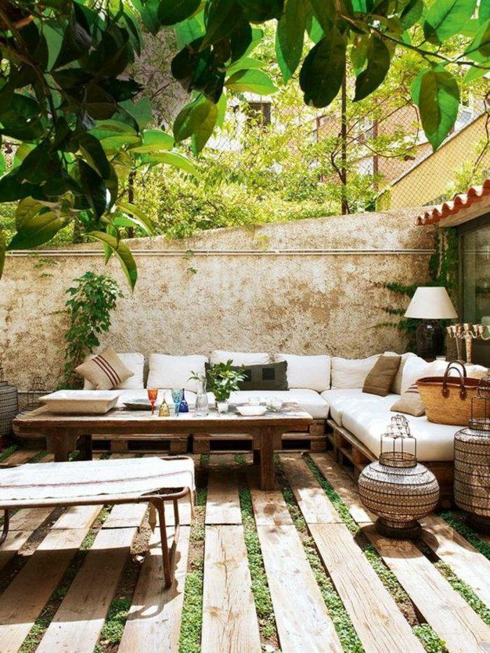 Idee Terrasse Jardin Conception