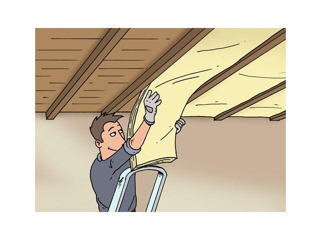 Isoler une toiture plate par l'intérieur Isolation Livios