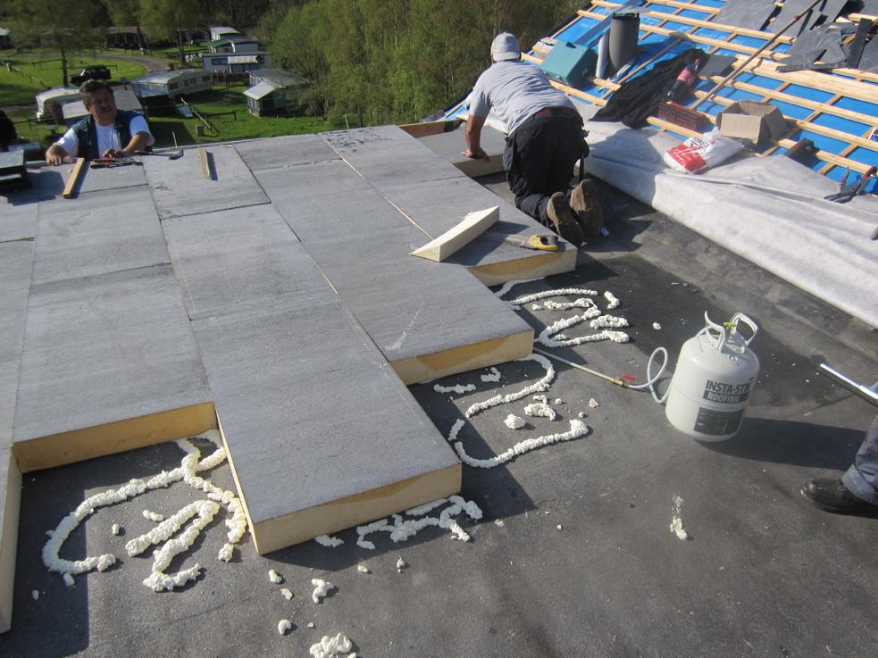 Nos réalisation en isolation de toits plats