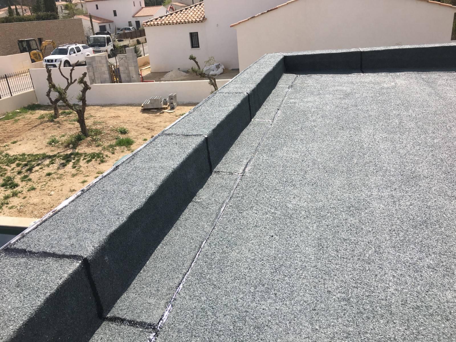 Isolation toit Terrasse Étanchéité Et isolation D Une toiture Terrasse toit Plat - Idees ...