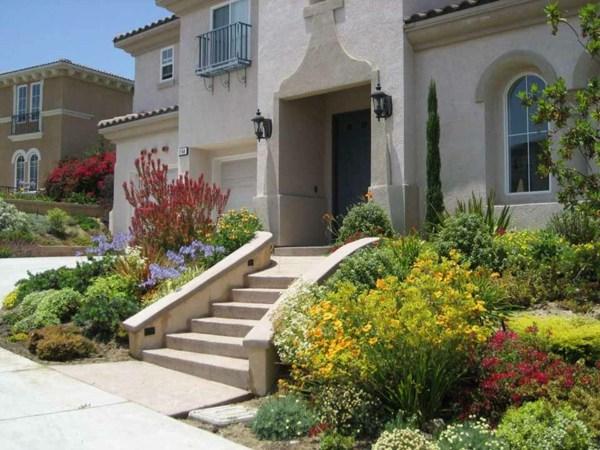 Idee Amenagement Jardin Devant Maison HW02
