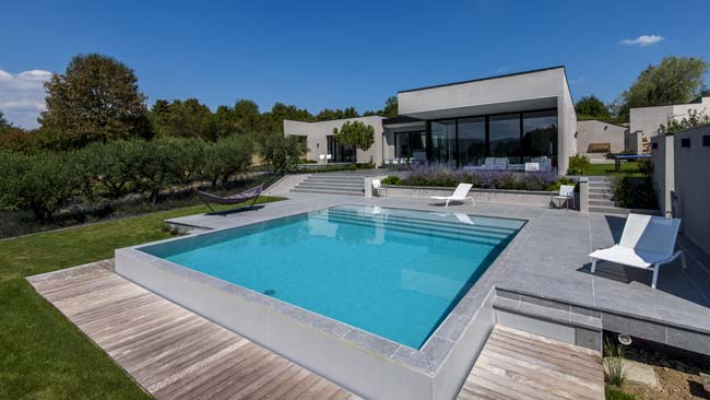 Jardin terrasse piscine et extérieur photos