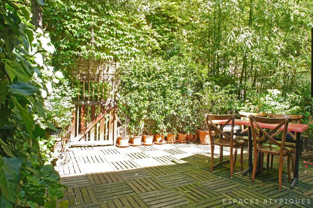 Maison avec jardin terrasse à vendre Paris 11e