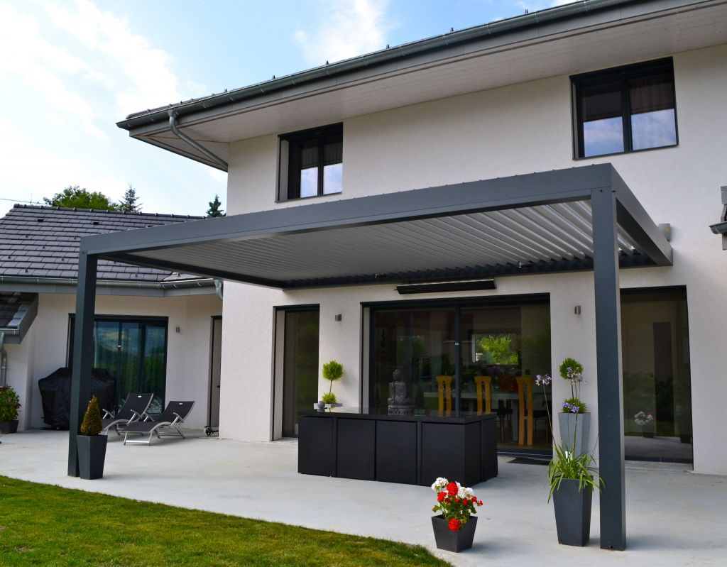 Terrasse contemporaine Haute Savoie 74 juillet 2013
