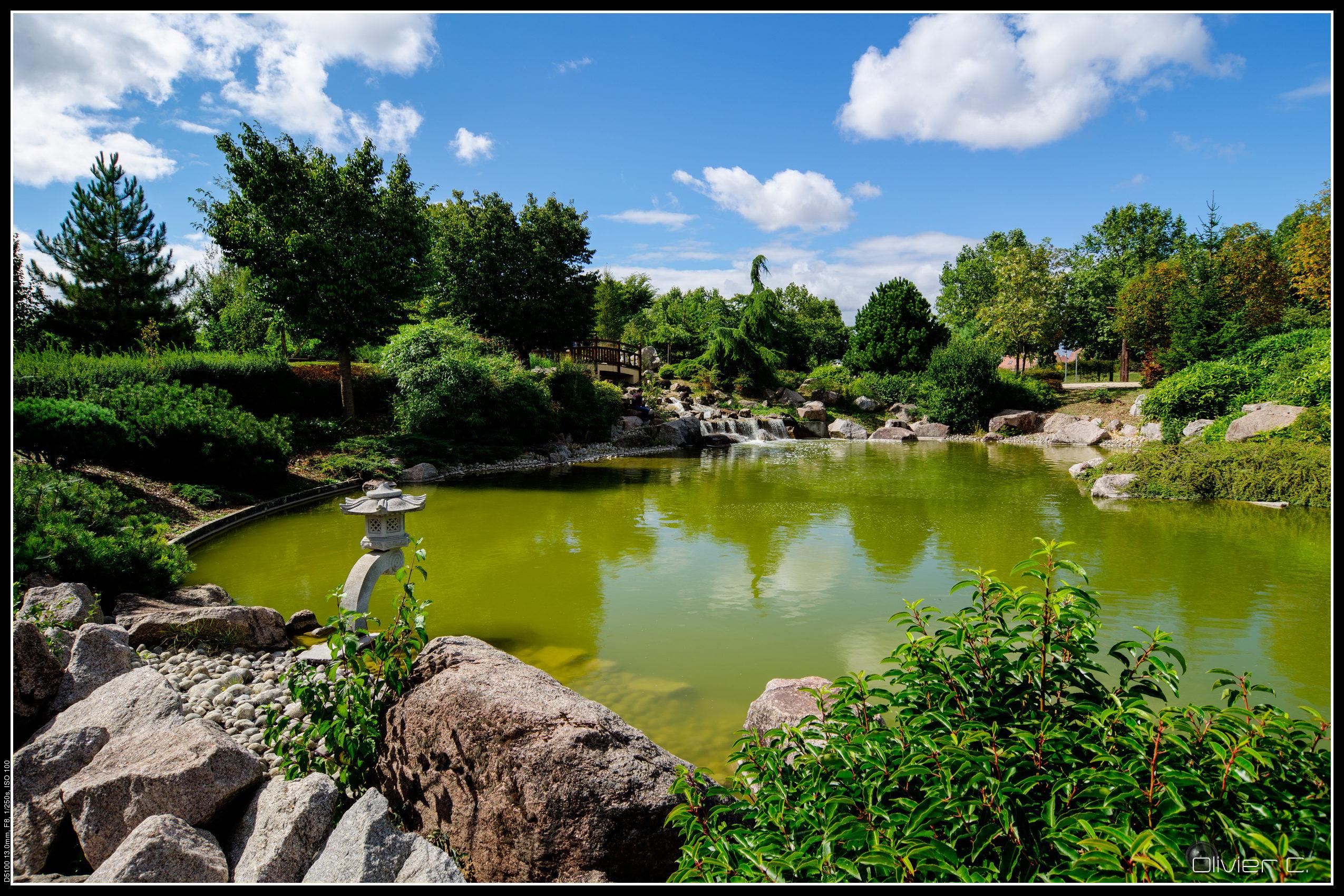 Jardin Japonais Dijon Le Jardin Japonais De Dijon Oliver Blog