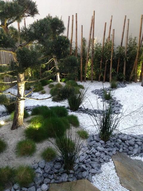 jardin zen et japonais Asiatique Jardin Nantes par