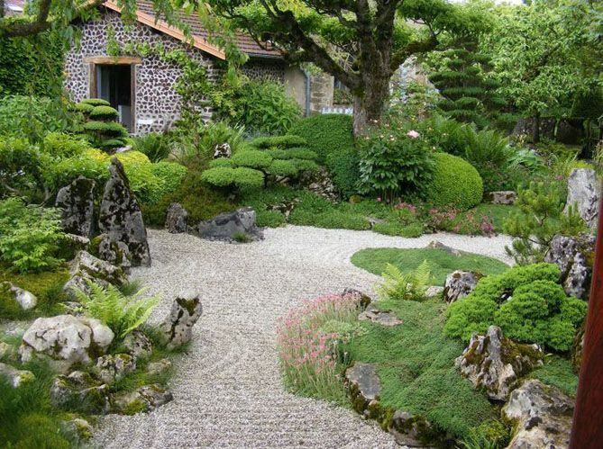 Les 5 secrets d un jardin japonais Elle Décoration