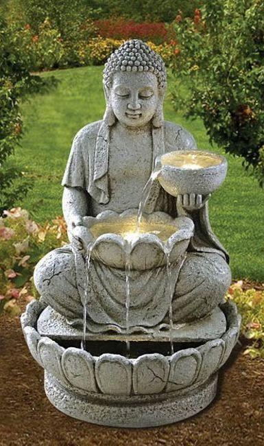 Jardin Zen Avec Bouddha Fontaine Zen Bouddha 1 … Zénitude